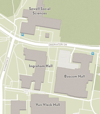 Portion of campus map