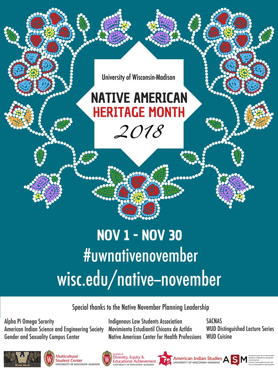 Native November – University of Wisconsin–Madison |