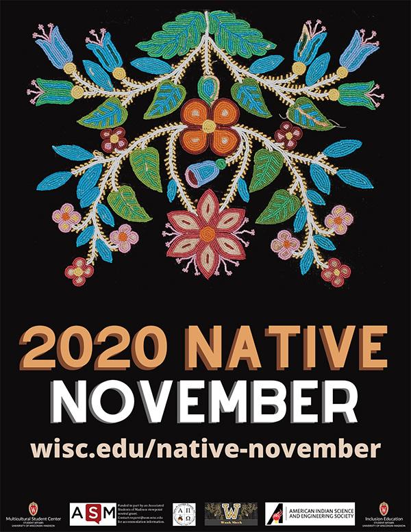 2020 Native November poster